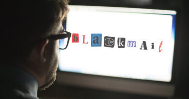 Do Not Be a Victim of Online Blackmail